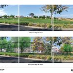 Rendering from the Draft EIR.  Note the change  to Foothill Drive.