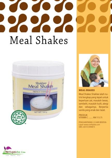 Meal Shakes Shaklee untuk lawas