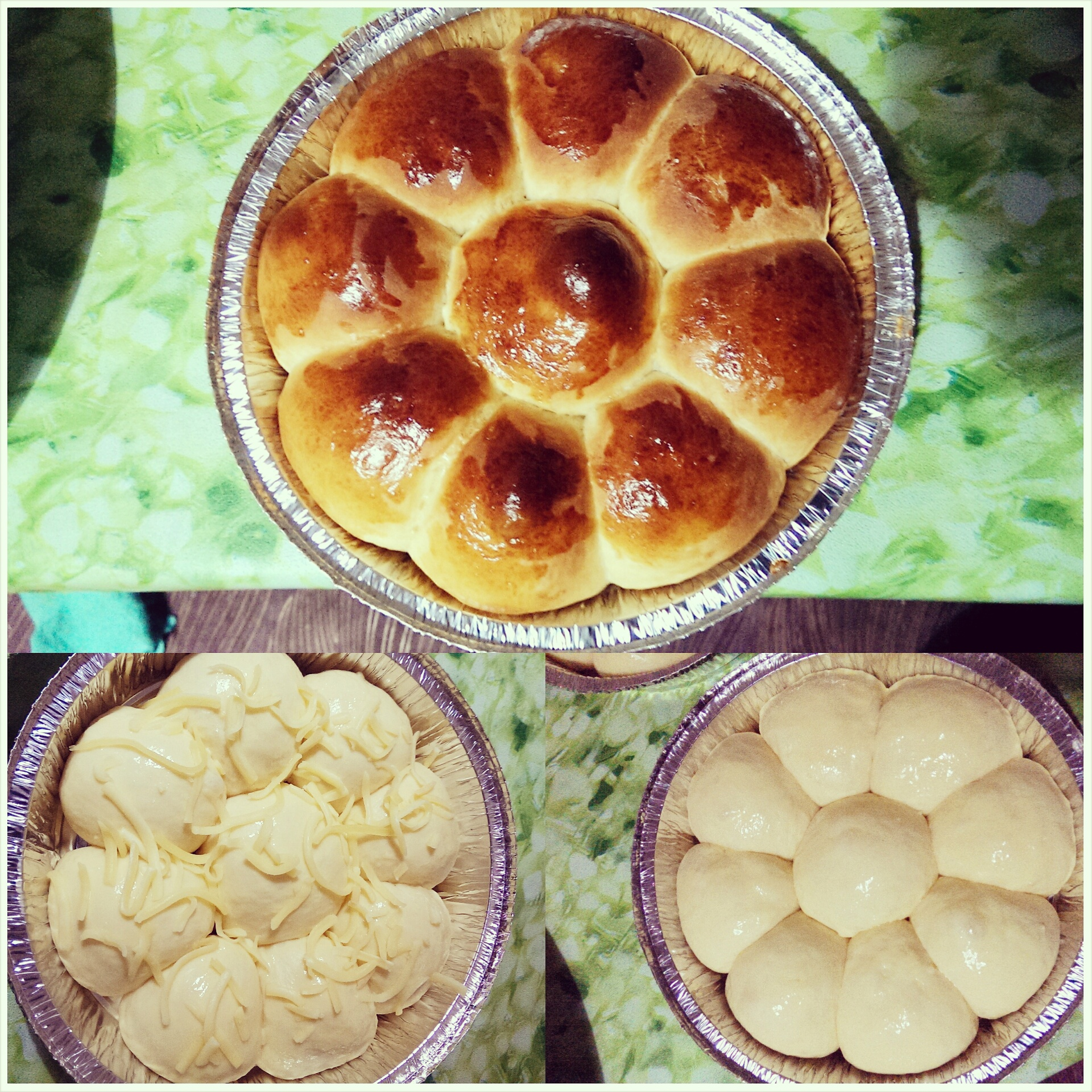 roti manis siap dibakar