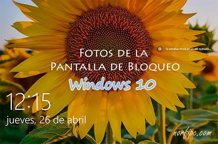 Ubicacin De Las Fotos De La Pantalla De Bloqueo En Windows 10