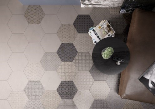 Le Terre hexagon fliser