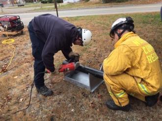 Norfolk County Tech Rescue Team training - 08