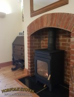 Burley Hollywell Wood Burning stove