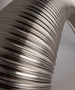 Midtherm 316L and 904L Flexible Stainless Steel Flue Pipe