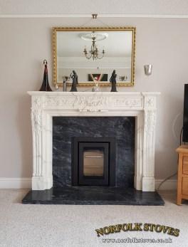 Di Lusso R4 Inset, Wood Burner