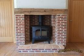 Parkray-Consort-15-Wood-Burner-Beam-Remodel
