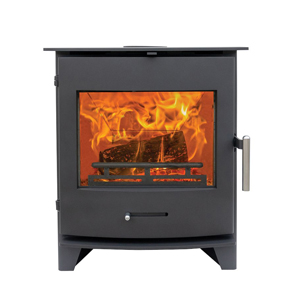 """The Newbourne 40i inset fits straight into a 16"""" x 22"""" British standard fireplace. The tapered back makes it easy to install. 2022 Ecodesign ready."""