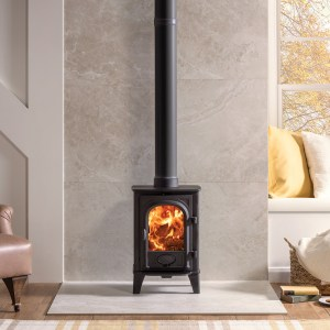 Image of Stockton 4 wood and multifuel stove