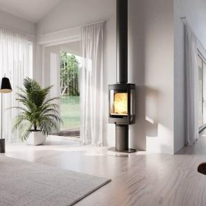 Image of Nordpeis Duo 1 wood burning stove