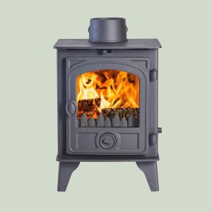 Image of Hunter Hawk 4 wood and multifuel stove
