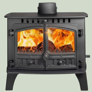 Image of Hunter Herald 14 wood and multifuel stove