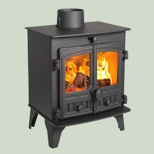 Image of Hunter Compact 5 wood and multifuel stove