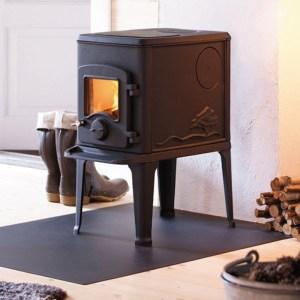 Image of Nordpeis Orion wood burning stove