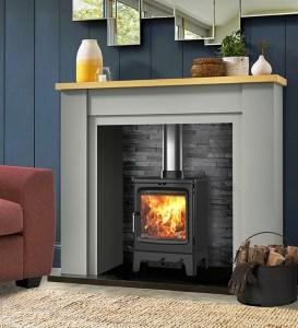 Image of Saltfire Peanut 5 wood burning stove