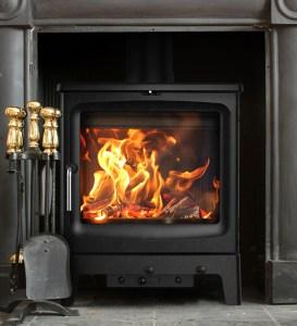 Image of Saltfire Peanut 8 wood burning stove