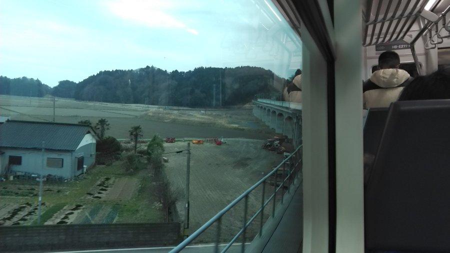 東名駅付近の高架