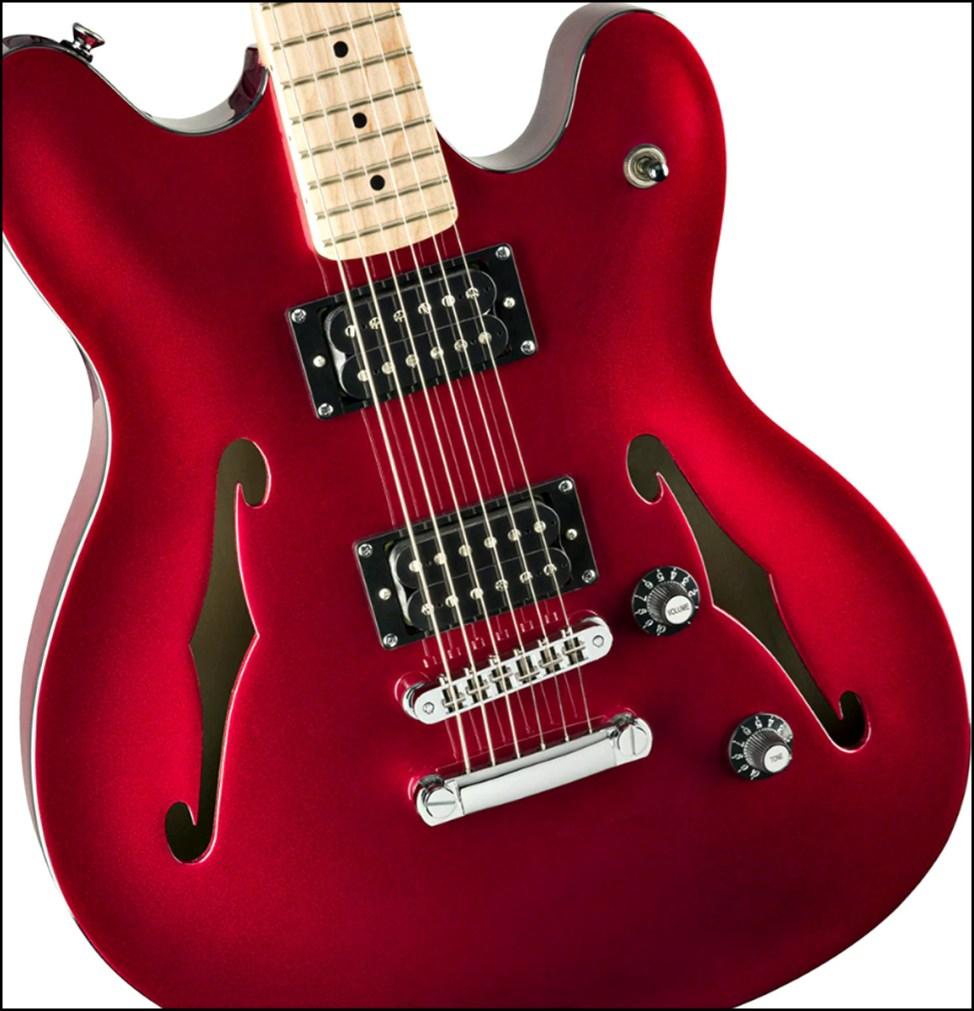 SQUIER ( スクワイヤ ) / Affinity Series Starcaster squier affinityのギターが安くてカッコイイ!初心者にオススメのギター!!【スクワイヤ】