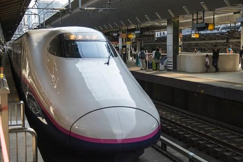 上野駅の東北新幹線「やまびこ」乗り場は何番線ホーム?