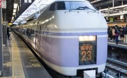 東京駅の特急「あずさ」乗り場は何番線ホーム?