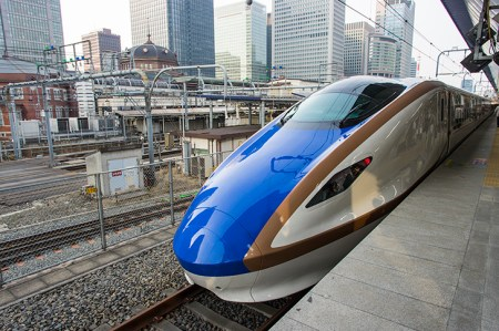 北陸新幹線かがやき上り線、停車駅&発着時刻表(定期列車)