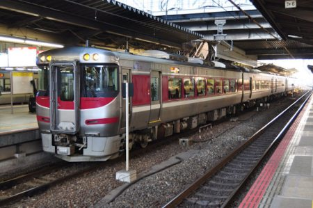 大阪駅の特急「はまかぜ」乗り場は何番線ホーム?