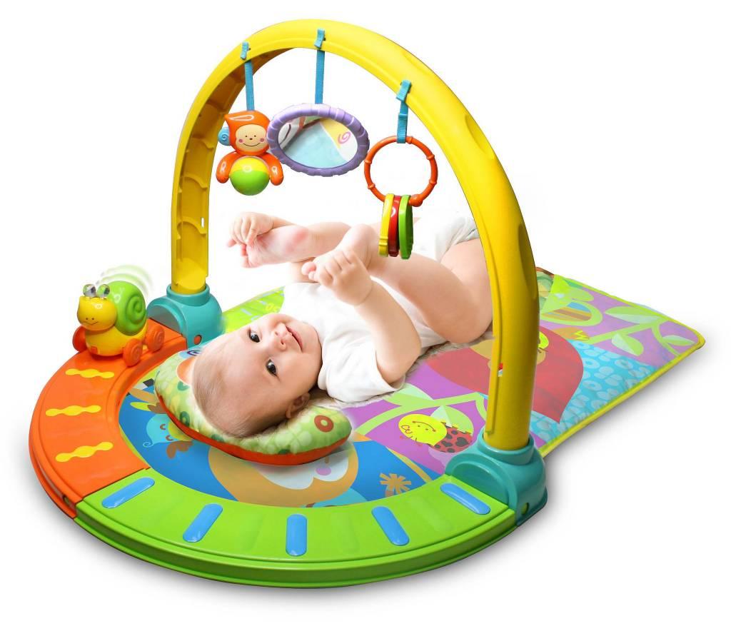 Centru de activitati B-Kids Baby Fitness Fun Multi Mat