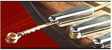 弦交換が楽なアコギ用パーツ パワーピン Power Pins アコギ用が高音・音量とサステインが増えてオススメ! 装着方法 7500円