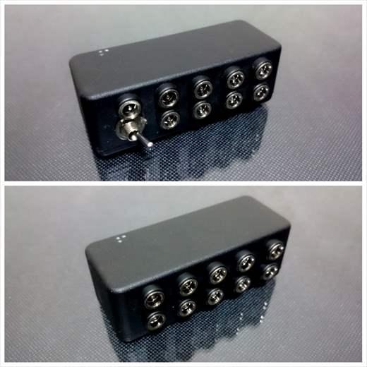 InMK2 (電圧2種類選択) セミオーダーパワーサプライ / InMK (インク) パワーサプライ12V・15V・18V・24V対応特集。高電圧エフェクターの電源はコレ!