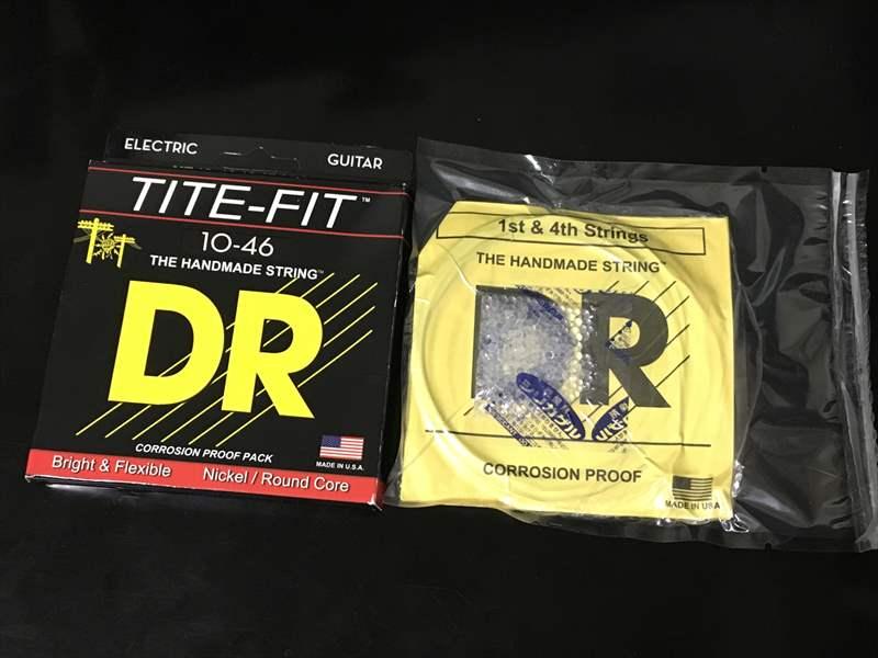 【真空パック】DR Strings 10-46 MT-10 TITE-FIT 770円