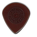 Primetone ピック 320円(税込) PK518 Jazz III (Jazz3)with Grip Sculpted Plectra, Ultex / DUNROP