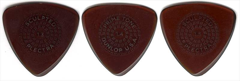 Primetone ピック 320円(税込) PK516 Small Triangle with Grip Sculpted Plectra, Ultex / DUNROP