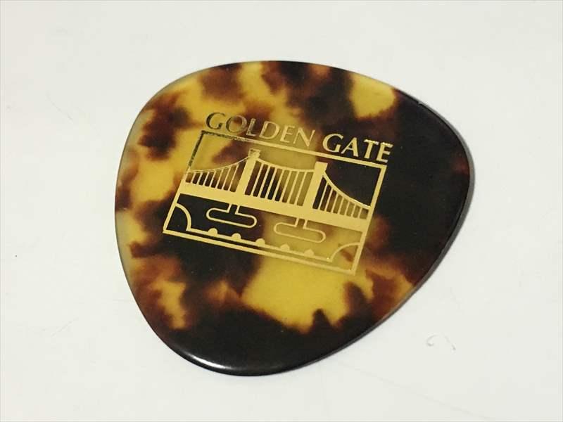 Saga Golden Gate ピック 250円(税込) Flatpick rounded triangle