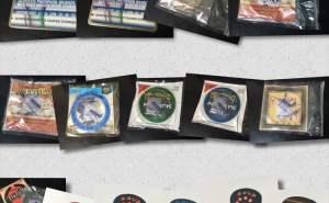 DAVA JAZZ 120円、グリスマン ピック250円、MSP4100 660円、La Bella 820 950円、VAPOR SHIELD 1600円、M2100 620円、
