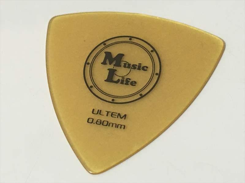 50円 ULTEM ピック Triangle トライアングル 0.80mm 【10月】MLピックの人気・売れ筋ランキングTOP15! 一番の人気はULTEM (ウルテム) JAZZ XL 0.88mm ピック