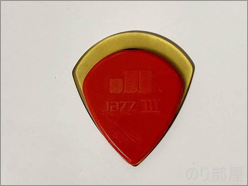 ウルテムピックとジムダンロップ JAZZ 3のピック(ナイロン)の比較【50円】ウルテム ピック JAZZ XL ジャズ ULTEM MLピック 【オススメのウルテムピック】