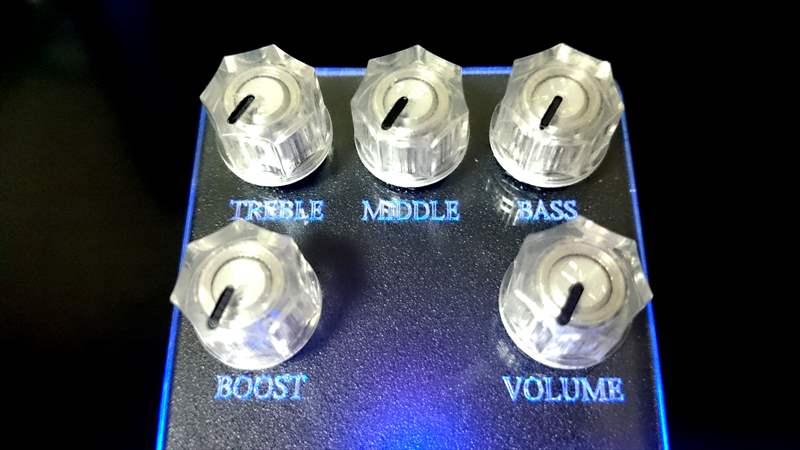 アンフィニ バッテリー にD.A-Booster3をEQとして使用