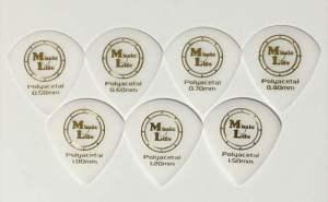 【MLピック】50円 JAZZ XL Polyacetal / Music Life Original Pick ポリアセタール ジャズXL型 ピック 50円(税込)