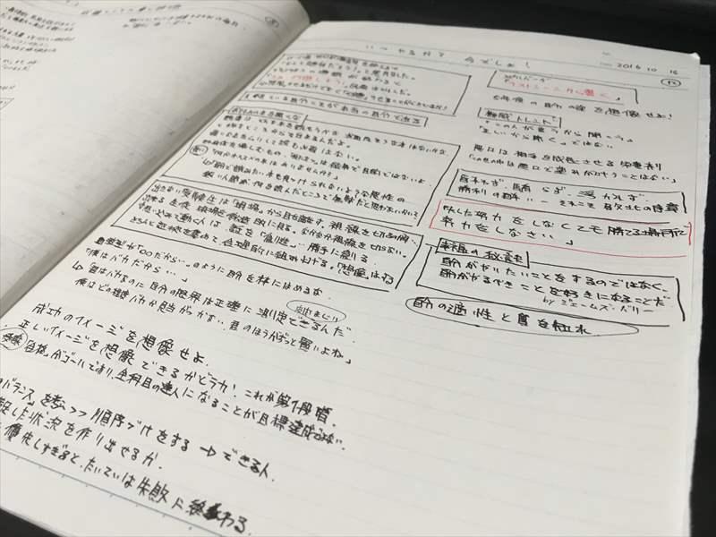 読み終えたら付箋を基にノート1ページにまとめる。 効果的な本の読み方 -本の要点を押さえ考えを整理してノート1ページにまとめることのメリット-