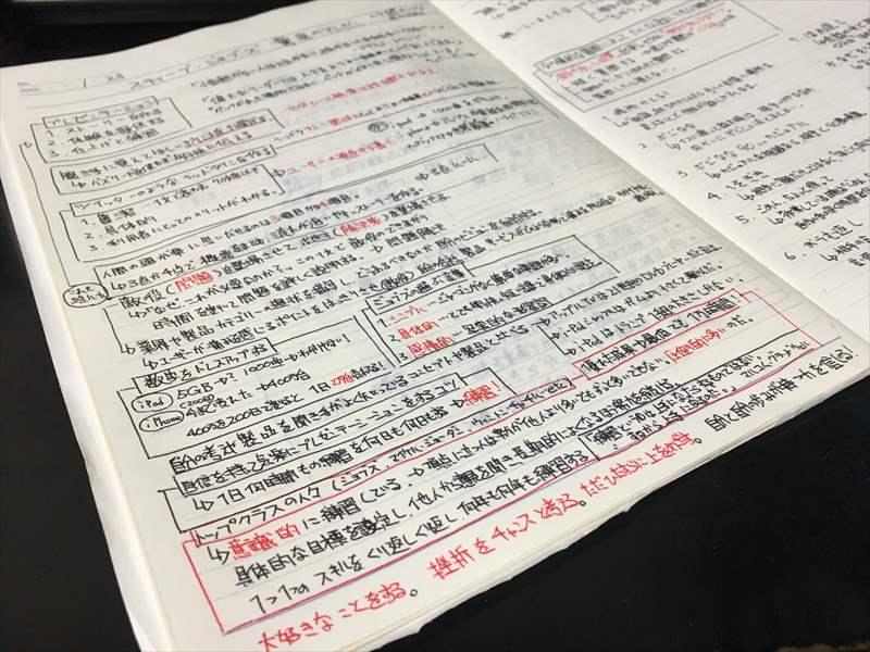 ジョブズ 驚異のプレゼンをノートにまとめる 効果的な本の読み方 -本の要点を押さえ考えを整理してノート1ページにまとめることのメリット-
