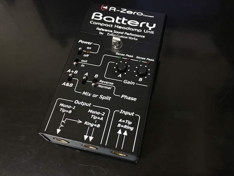 【動画あり】アンフィニ さんのプリアンプ Batteryを購入しました! EQがないため、代わりにD.A-Booster3を使ってみたけど、かなり良い!