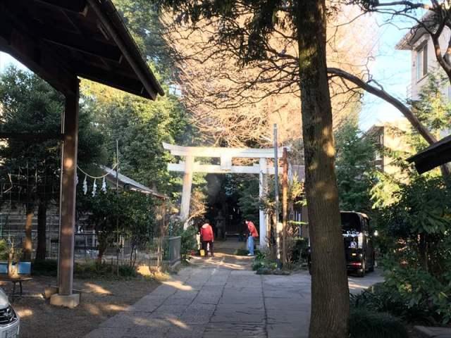 一山神社 与野七福神 内部
