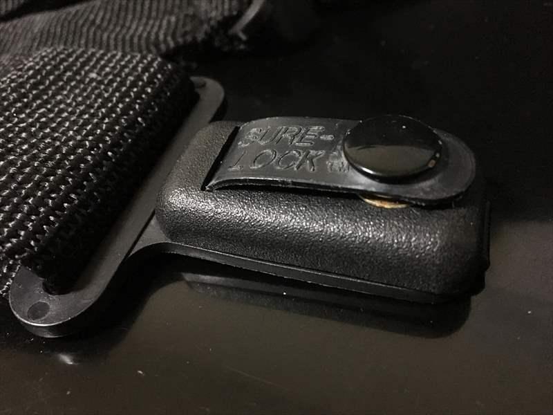 SURE-LOCK の ピンの部分が特徴