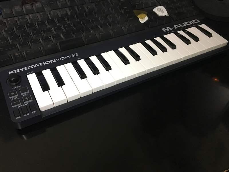Keystation Mini 32 サイズ