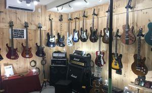 フリーダムカスタムギターリサーチのショールーム