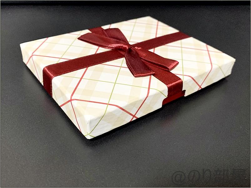 Amazonギフト券のボックスタイプの「チェック」も購入!女性にプレゼントするのにオススメ!