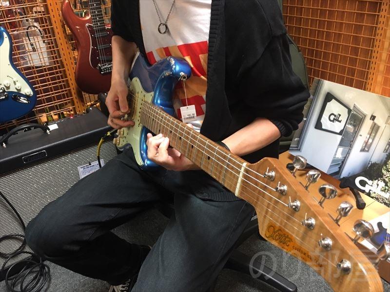 Xotic XSC-2 Allen Hinds仕様 のギターが超良かった!バランスの取れた守備範囲の広いギター。