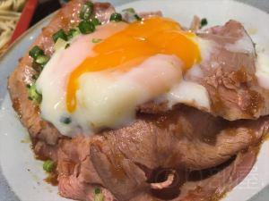 ローストビーフ丼を埼玉で食べるなら北浦和「そば処 斗露路 」!!駅から徒歩1分!