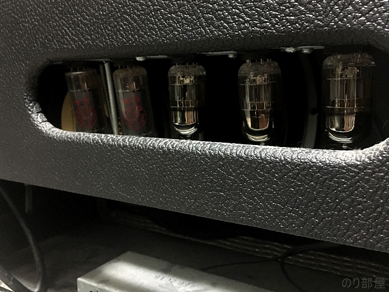 フェンダー ブルースJrの真空管はグルーブチューブに替えています 【プロが教える】ギター初心者にオススメのギターアンプ!上手くなるために練習ではチューブアンプを使おう!