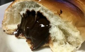 チョココロネをトースターで焼いてみた!