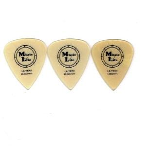 1枚50円 ウルテム ティアドロップ  MLピック FLEX ピック 68円(税込) Tortex Triangle 456 JIM Dunlop ギター トライアングル ピック